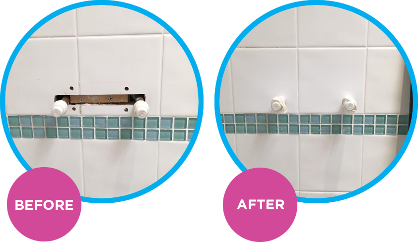 Shower Ceramic Tile Repair Brighton Sussex Surrey Kent Hampshire