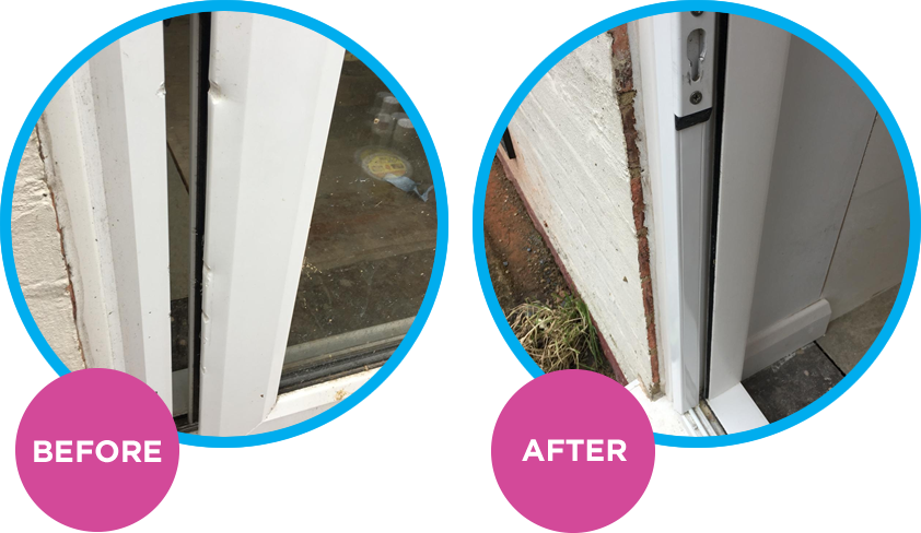 UPVC Patio Door Repair Brighton Sussex Surrey Kent Hampshire